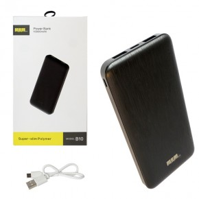 Внешний АКБ (Power bank) MRM B10  10000mAh black