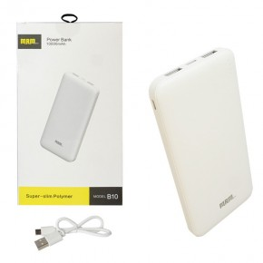 Внешний АКБ (Power bank) MRM B10  10000mAh white