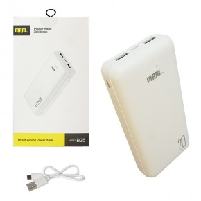 Внешний АКБ (Power bank) MRM B25  20000mAh whitecopy of Внешний АКБ (Power bank) MRM B10  10000mAh white